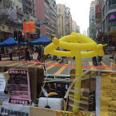 旺角黃傘@2014.10.26