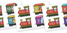Splitsen van 10 - trein