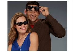 Solar Shield fits over sunglasses. Wear over your glasses. Very affordable under $25