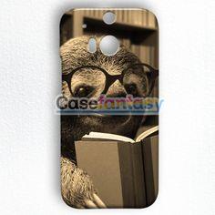Cute Sloth HTC One M8 Case | casefantasy
