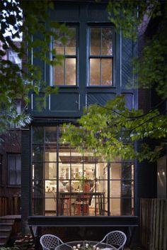 huisjes | mooie gevel gemaakt van staal denk ik Door EllaVissers