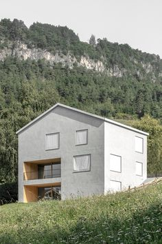 Completed in 2017 in Truden, Italy. Images by Gustav Willeit. The residential house is situated in a hillside location at the edge of the historical village center and is in line with the local building...