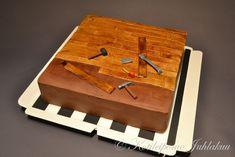 Parketin asennus -kakku Installing Hardwood Floors, Triangle, Flooring, Birthday Cakes, Cake Ideas, Google, Party, Wood Flooring, Birthday Cake