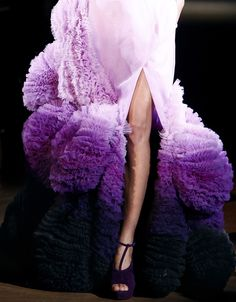 RUFFLES Givenchy Couture Spring/Summer 2010