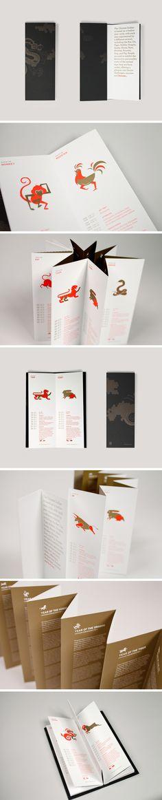 [设计分享]英文版十二生肖小册子#折页#@GrayKam采集到「排版印刷」(305图)_花瓣平面设计