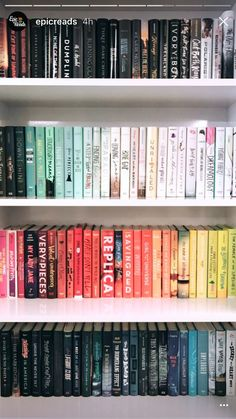 OCD - and the best way to make sure you'll NEVER find that book you're looking for...