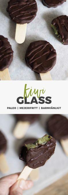 Recept: Kiwigladd doppad i choklad. Paleo/meejrifritt och perfekta till barnen!