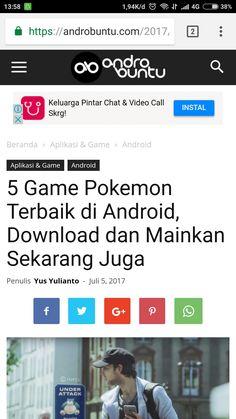 5 game pokemon terbaik di android. Baca selengkapnya di androbuntu.com.