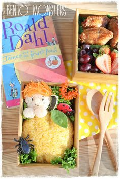 James and the Giant Peach Bento {bento monsters}