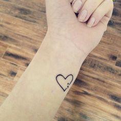 semicolon tattoo color - Google Search