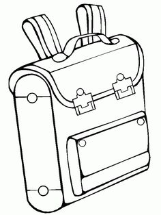 Backpack coloring page for kids, back to school coloring pages printables free… Free Kids Coloring Pages, School Coloring Pages, Printable Coloring Pages, Coloring Pages For Kids, Colorful Backpacks, Printable Activities For Kids, Simple Math, School Colors, School Bags