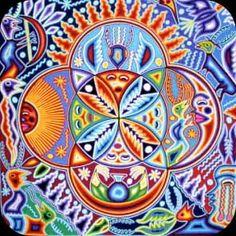 Huichol Shamanic Art *BOOOOM*