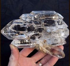 Himalayan Gwindel Quartz. Rarest Quartz formation in the world.