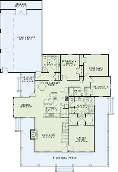 Good floor plan - would make the garage two stories for studio/office space and put the range in the island and remove the wall to the great room so the kitchen and great room merge into one.