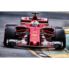 Sebastian Vettel | Ferrari SF70H | Australian GP, Melbourne 2017