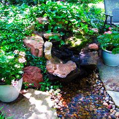 water feature gardening ideas for small yards