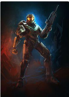 Halo 4 Master chief looks beast.