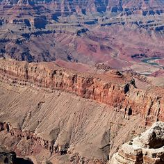 Grand Canyon and Colorado River - South Rim View