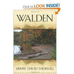 I read Walden for the first time my junior year of high school. Since then, I come back to it every few years. The book isn't about the specifics, to me, but about the mindset.