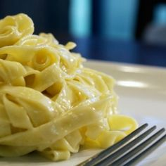 The Original Fettuccine Alfredo-only four ingredients