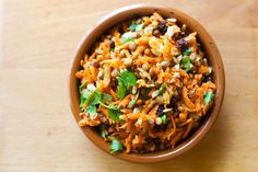 Curried Carrot and Lentil Salad - Feisty Fresh Eats