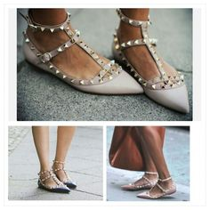 Still in love with the Valentino Stud Flats #valentino #valentinoshoes #studs #fashion #ootd #styleinspiration
