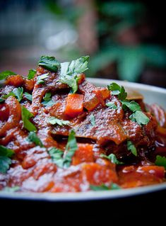 Tomato-Lamb Stew from South Africa (Tamate Bredie) - Celina Moody - Tomato-Lamb Stew from South Africa (Tamate Bredie) Tomato Recipes South African Tomato Stew (Tamatie Bredie ) - South African Tomato Stew Tamatie Bredie - (Free Recipe below) - Lamb Recipes, Meat Recipes, Healthy Dinner Recipes, Cooking Recipes, Oven Recipes, Curry Recipes, Recipies, Drink Recipes, South African Dishes
