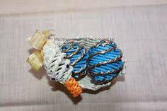 Výsledok vyhľadávania obrázkov pre dopyt veľkonočné vajíčka pletené z papiera