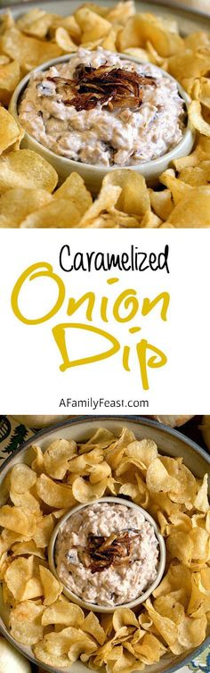 Onion Dip Caramelized Onion Dip - You'll never use a mix again once you make this homemade onion dip!Caramelized Onion Dip - You'll never use a mix again once you make this homemade onion dip! Onion Recipes, Dip Recipes, Cooking Recipes, Diabetic Recipes, Keto Recipes, Appetizer Dips, Appetizer Recipes, Yummy Appetizers, Antipasto