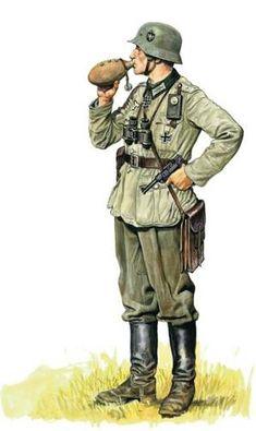 WEHRMACHT - Deutsche Heer Offizier - Poland 1939.