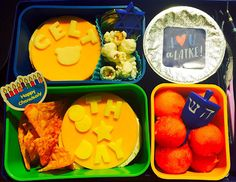 8th Day of Hanukkah Bento and Snacks