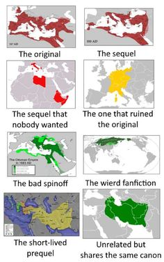 If The Roman Empire was a TV Series