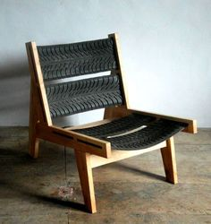 Tire Chair - For more great pics, follow www.bikeengines.com: