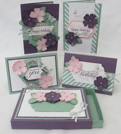 Stamping Moments: Birthday Blossoms Stamp Class