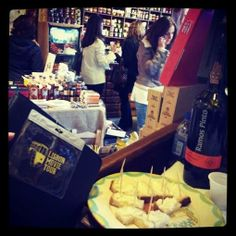 Gourmet Time after our tours @ Silva&Feijóo shop