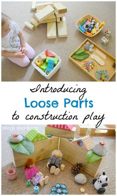 Introducing loose parts to construction play