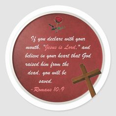 2010 by Mark Thaler Romans 10 9, Jesus Is Lord, Round Stickers, Custom Stickers, Activities For Kids, Kids Shop, Gender, Classic, Age