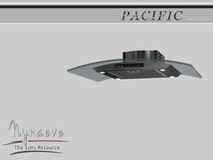Pacific Heights Kitchen - Range Hood  Found in TSR Category 'Sims 4 Large Appliances'