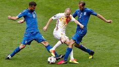 Iniesta returns as Spain names squad to face Italy