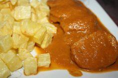 Solomillo en salsa