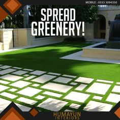 Greener is fresher, give your interior a fresher look.  Product : Artificial grass astroturf http://www.humayuninteriors.com/astroturfs/ Call us +021-34964523 , 34821297 , 34991085 Shop no: CA-5,6,7 hassan center, University Road Gulshan-e-Iqbal Karachi Pakistan  #Banquets_carpets #Commercial_carpets #Office_carpets #Berber_carpets #Loop_carpets #Highpile_carpets #Masjid_carpets #Contemporary_rugs #Area_rugs #Centerpieces #Abstract_modern_rugs #Marquee #Shadihallmarquee #Vinyl #Woodenfloorng…