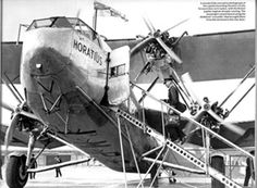 British Imperial Airways Handley Page H.P.42/45 Aircraf