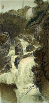 WATERFALL By Lee Man Fong ,1984