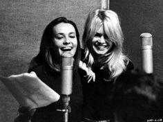 Brigitte Bardot ; Jeanne Moreau