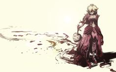 PRINCESS PEACH Gets Violent in This Fan Art - News - GameTyrant