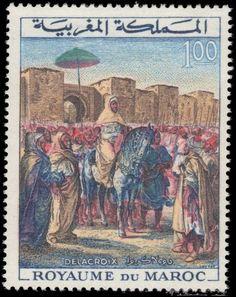 Morocco 1964 Coronation Anniversary unmounted mint.