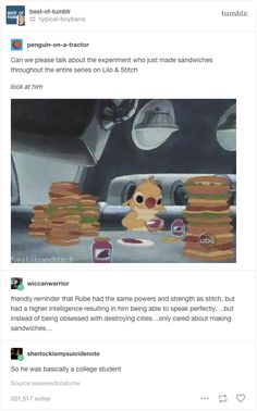 When they found maybe the most important character in all the movies. | 22 Tumblr Posts That Prove Disney Has The Funniest Fans