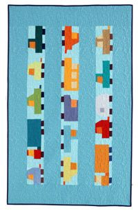 Free Quilt Pattern: City Traffic | October/November 2012 | Quilters Newsletter  Pam Rocco quilt!