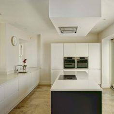 Kilternan - dermot bannon architects House Designs Ireland, Repurposed, Kitchen Cabinets, Farmhouse, Cottage, How To Plan, Architecture, Modern, Kitchens