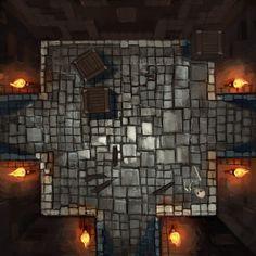 SKETCH BOOK BLOG: dungeon run tiles